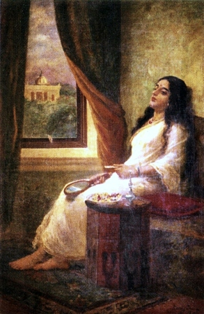 Raja_Ravi_Varma,_In_Contemplation